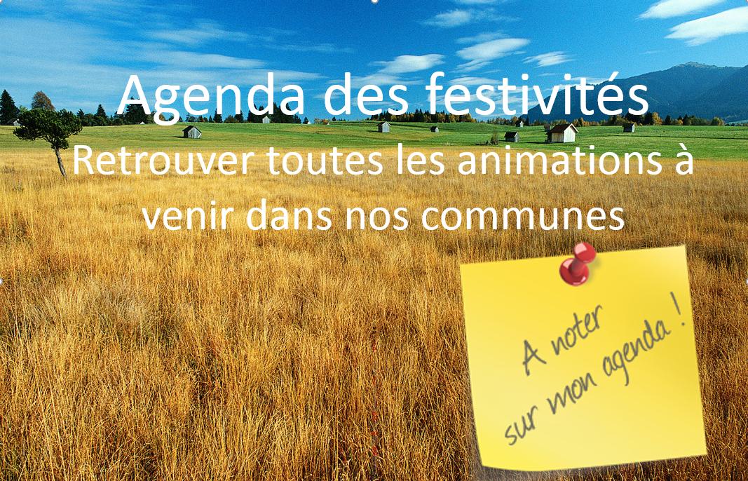 Agenda des festivités 2017/2018