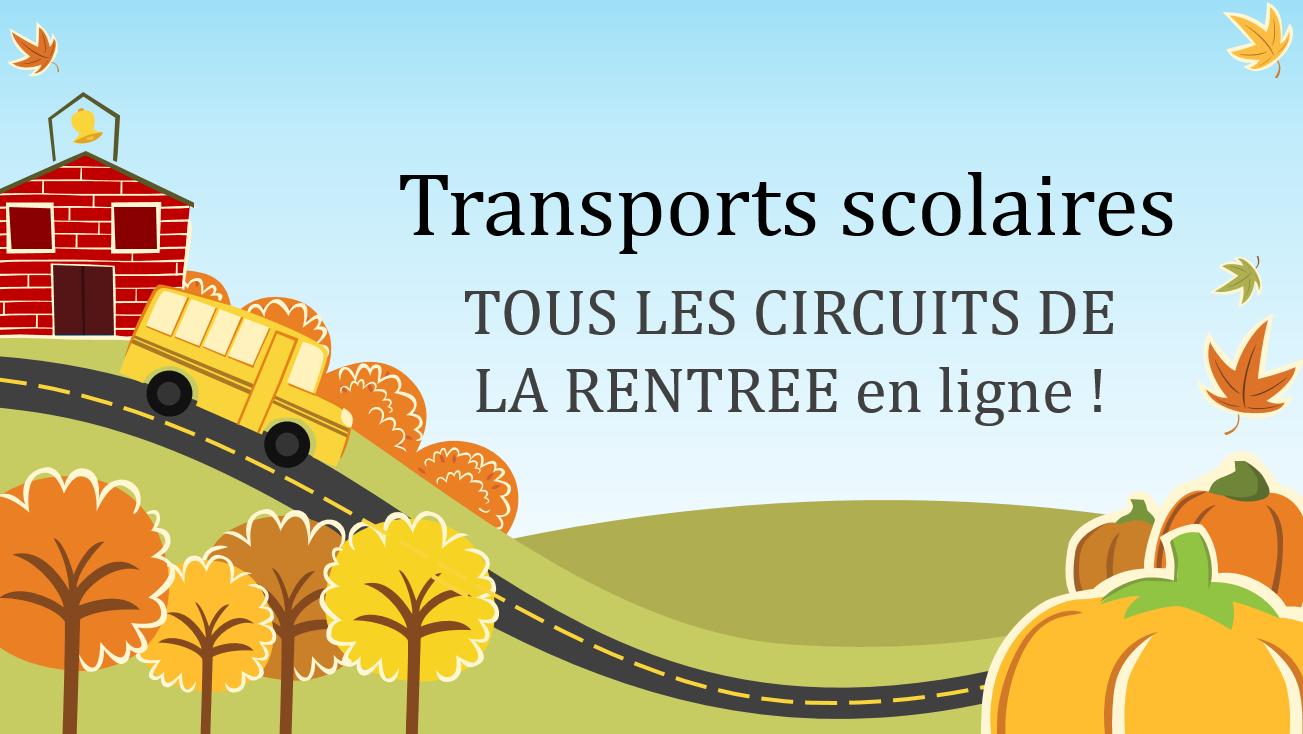 Tous les circuits de transports scolaires de la rentrée 2017 / 2018