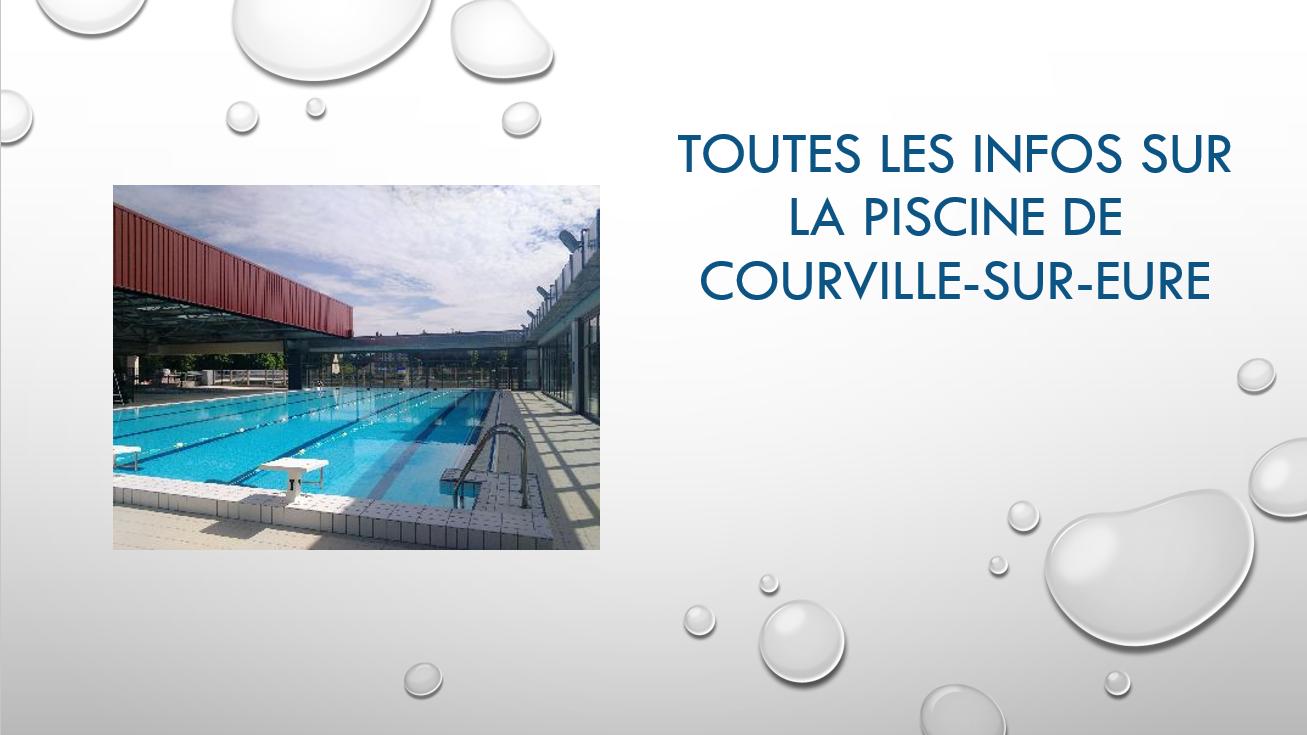 Toutes les infos sur la piscine intercommunale de Courville-sur-Eure